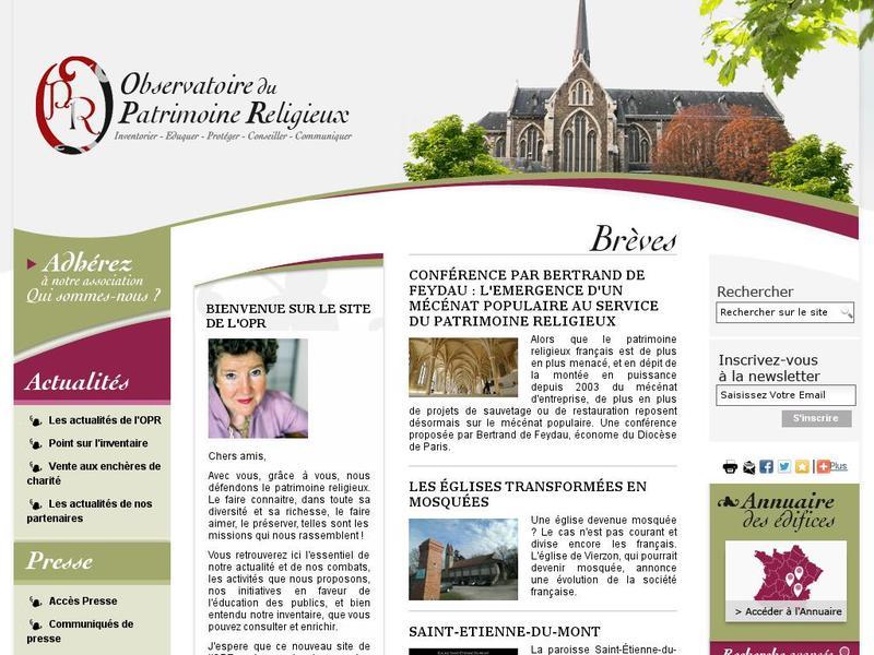 Observatoire du Patrimoine Religieux - Paris 7e