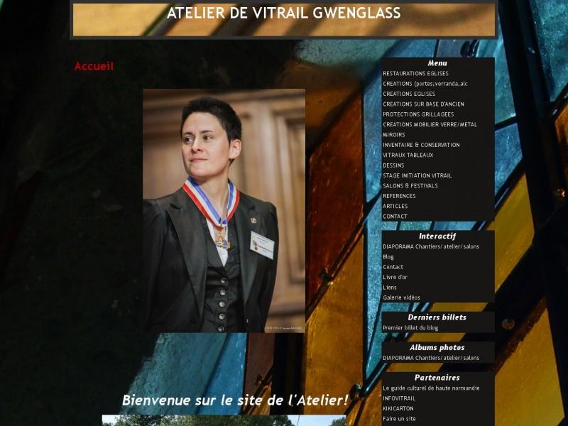 Atelier de Vitrail Gwenglass - Plasnes