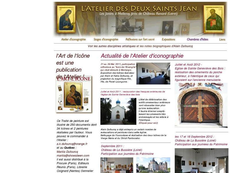 L'Atelier des Deux Saints Jean - alain.dufourcq.pagesperso-orange.fr