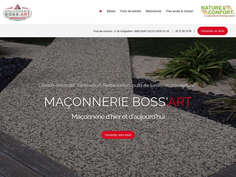 Maçonnerie Boss'Art - Saint Gilles Croix de Vie