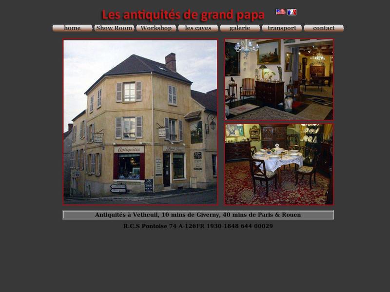 Grand Papa Antiquités - Vétheuil