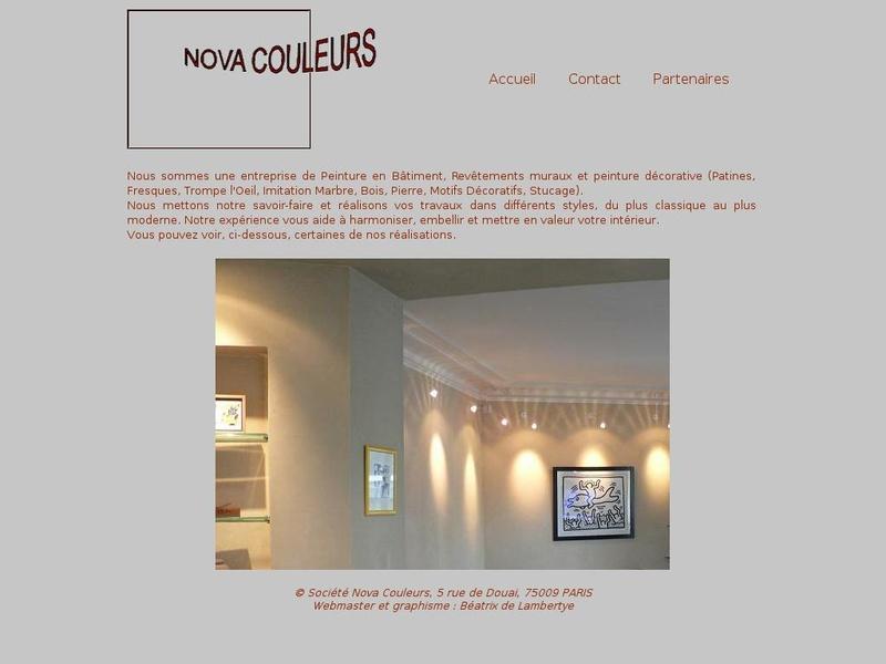 Nova Couleurs - Paris 9e