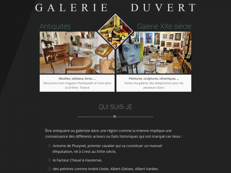 Martial Duvert - Crest