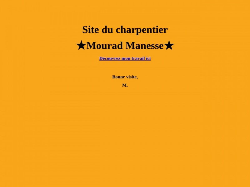 Mourad Manesse - Verjux