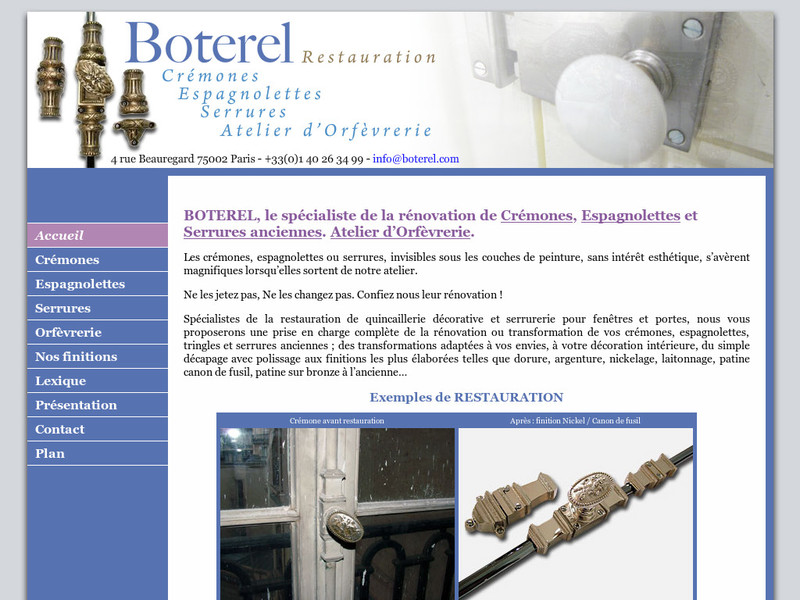 Boterel Restauration - www.boterel.com