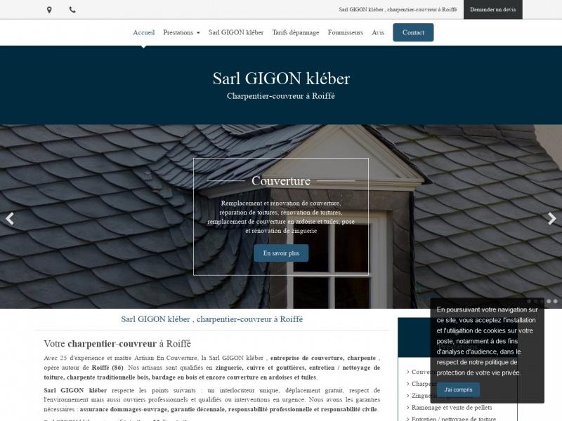 Kléber Gigon - www.sarlgigonkleber.fr