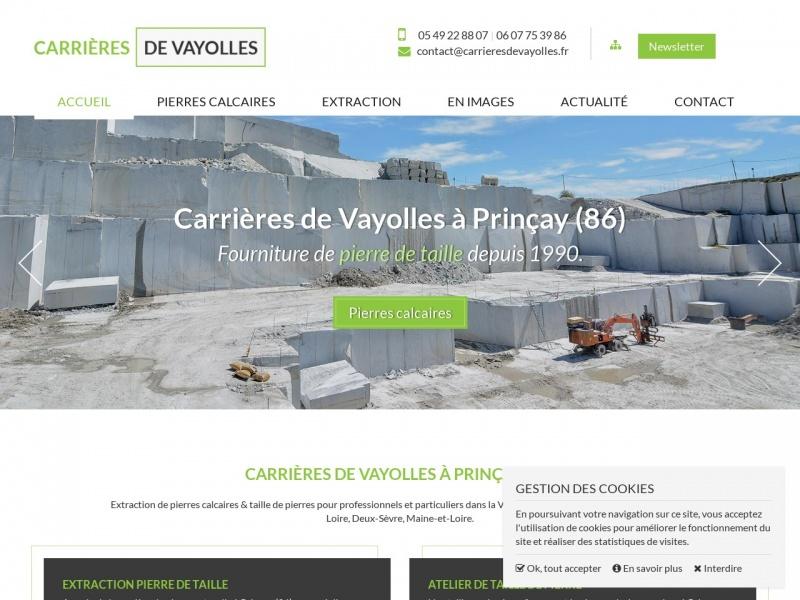 Carrières de Vayolles et Valdivienne - Berthegon