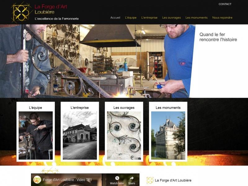 Loubiere SARL - La Forge d'Art - La Pellerine
