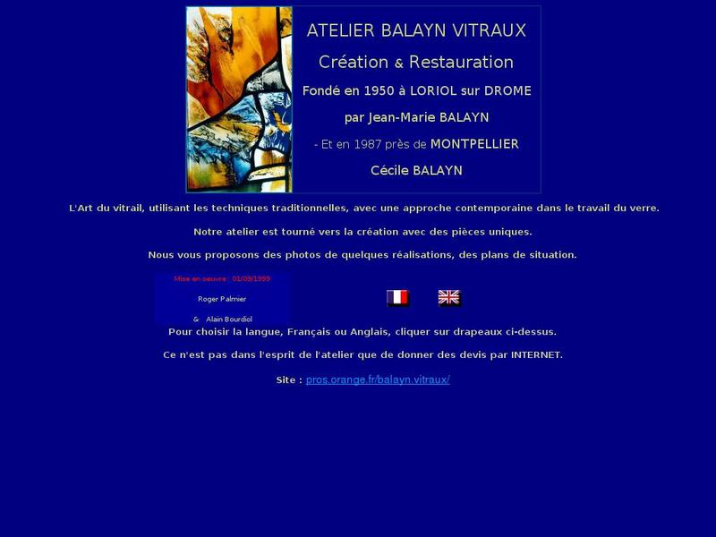 Atelier Balayn Vitraux - Loriol sur Drôme