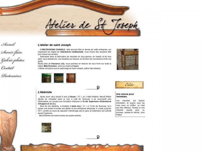 Atelier de Saint Joseph - Saint Léonard