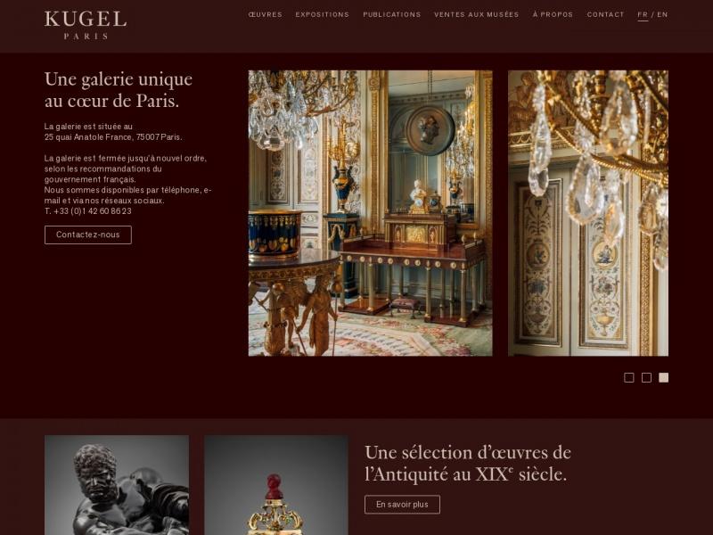 Galerie J. Kugel - Paris 7e