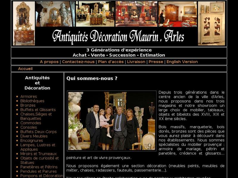 Antiquités Maurin SARL - Arles