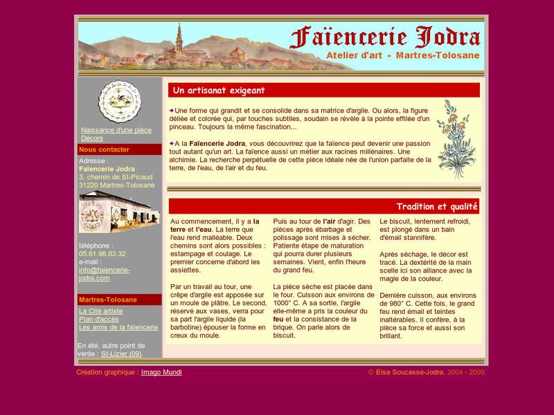 Faïencerie Jodra - Martres Tolosane