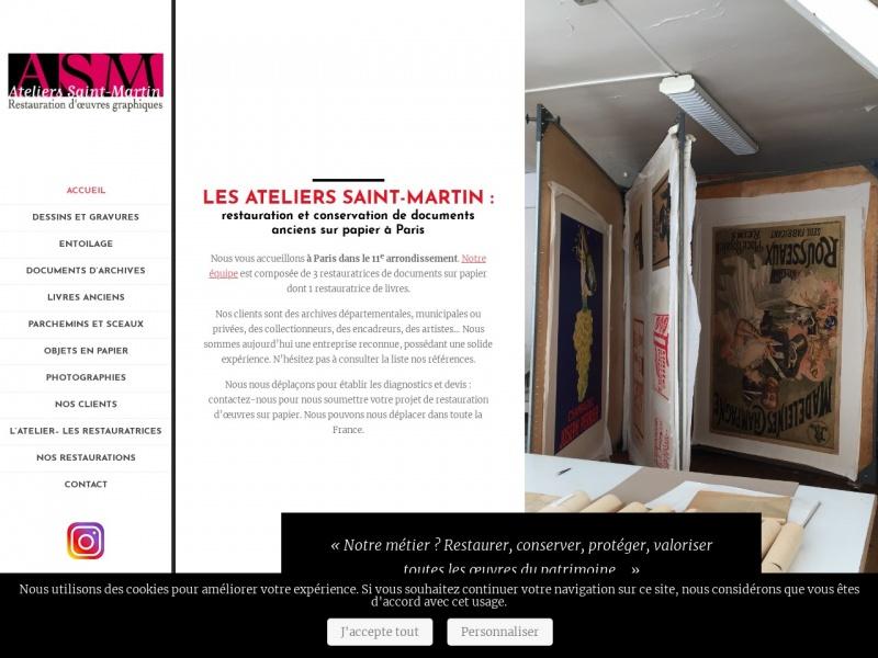 Ateliers Saint Martin - Paris 11e