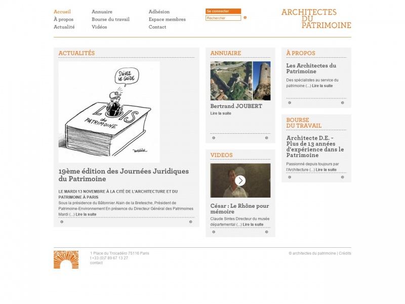 Architectes du Patrimoine - Paris 16e