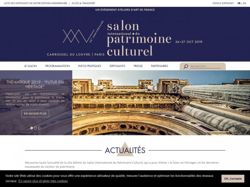Salon International du Patrimoine Culturel - Paris 1er