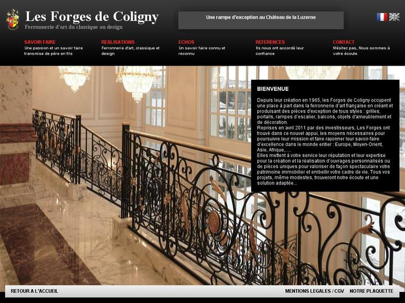 Flamma - Les Forges de Coligny - Chatillon Coligny