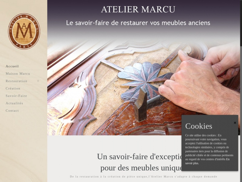 Atelier Marcu - Saint Denis