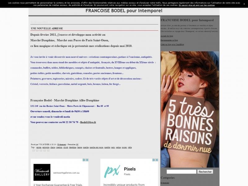 Françoise Bodel - Intemporel Créations - Saint Ouen