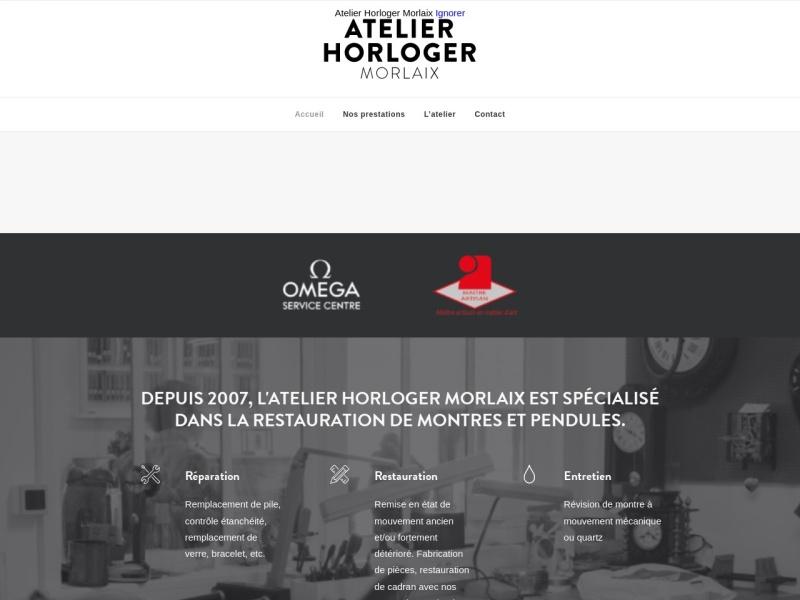 Nominoë Gasnier - Atelier Horloger Morlaix - Morlaix
