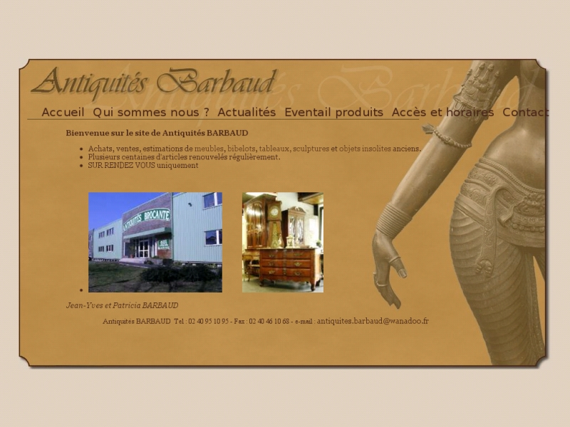 Antiquités Barbaud - Nantes
