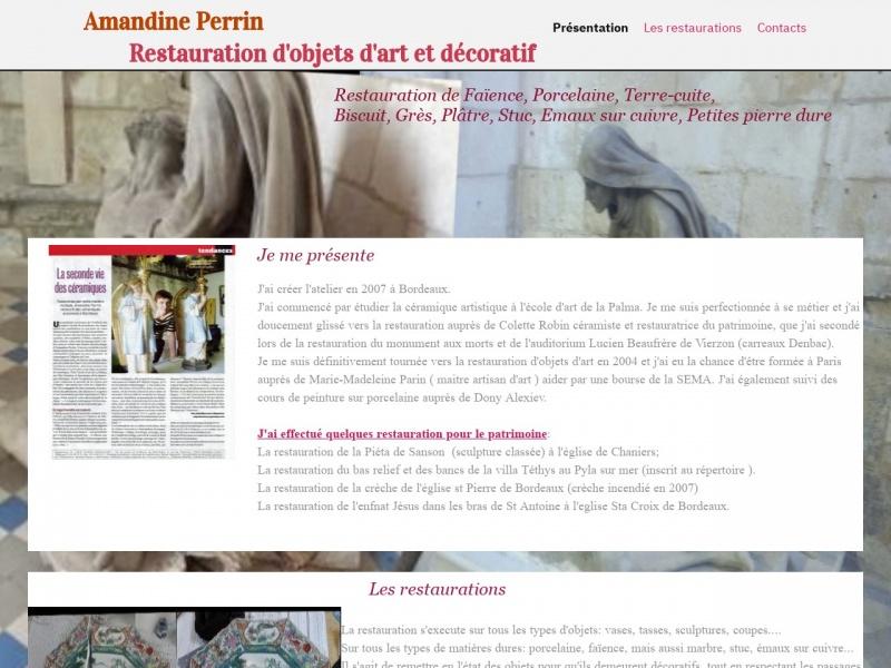 Amandine Perrin - Bordeaux