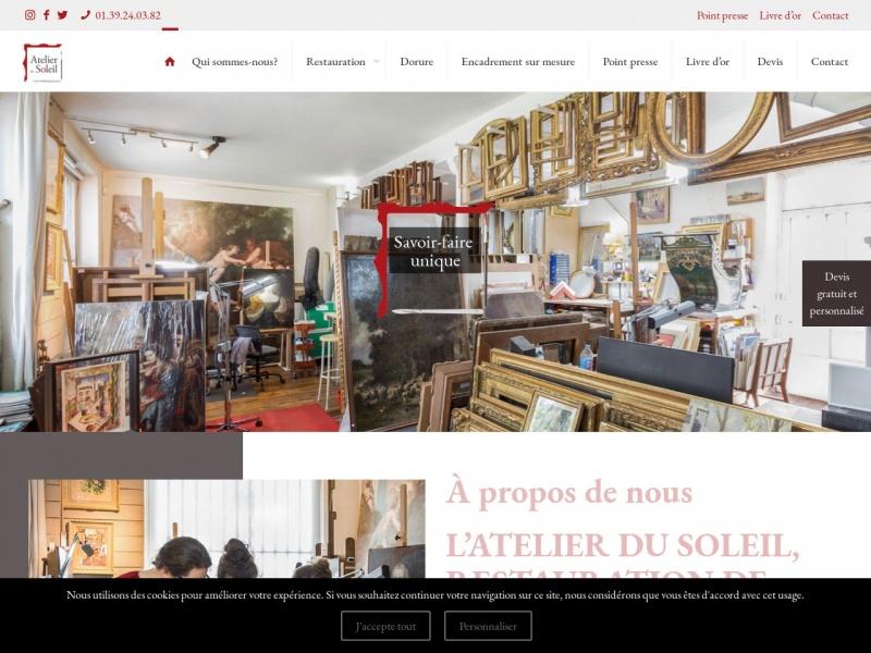 Atelier du Soleil - Brigitte Chaudron - Versailles