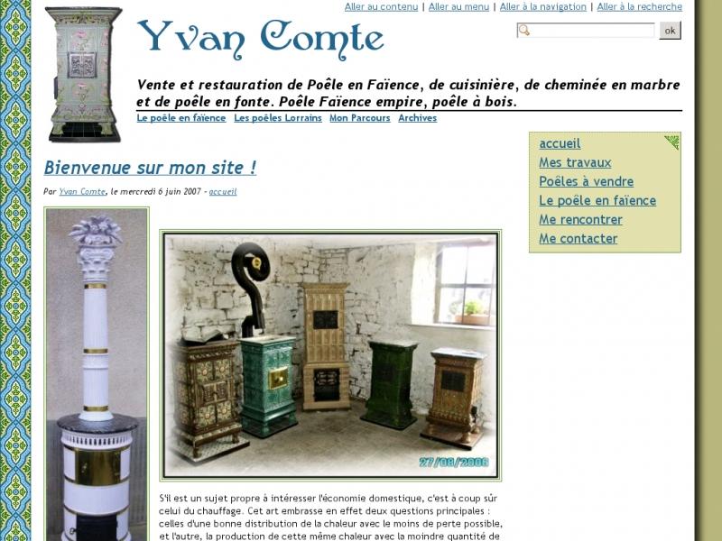 Yvan Comte - Vincey