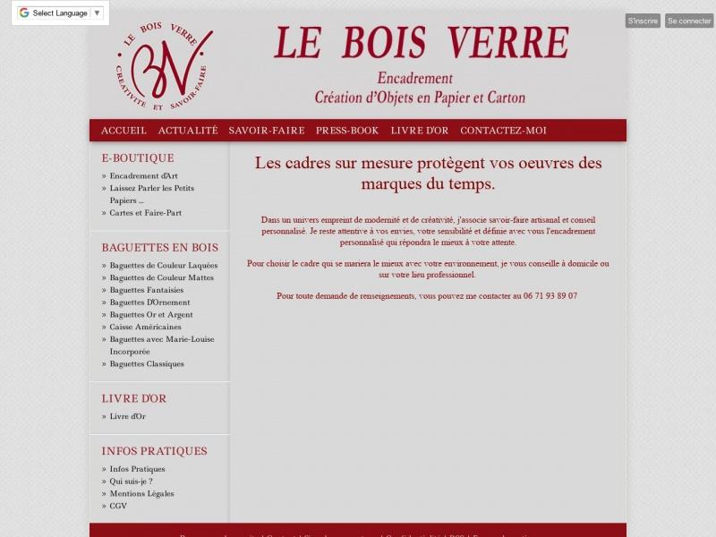Le Bois Verre - Orléans