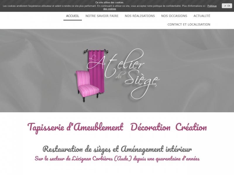 L'Atelier du Siège - Christine Laprune - Lézignan Corbières