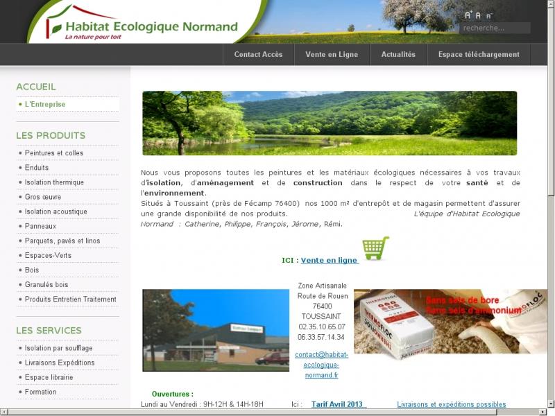 Habitat Ecologique Normand - Toussaint