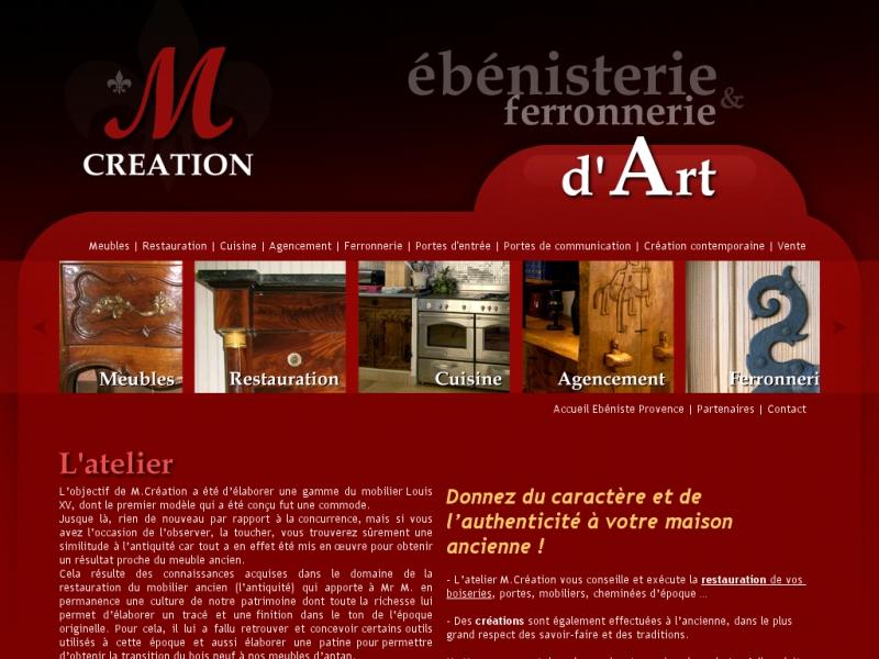 M Création - Eygalieres