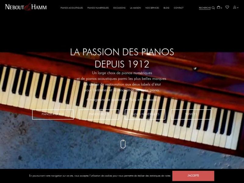 Pianos Nebout - Paris 18e