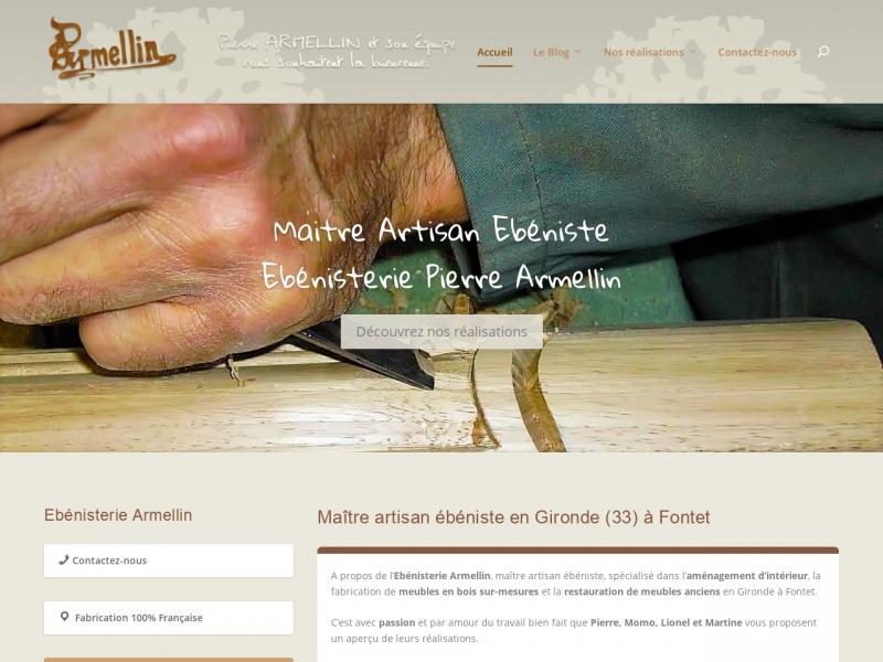 Ebénisterie Armellin - Fontet