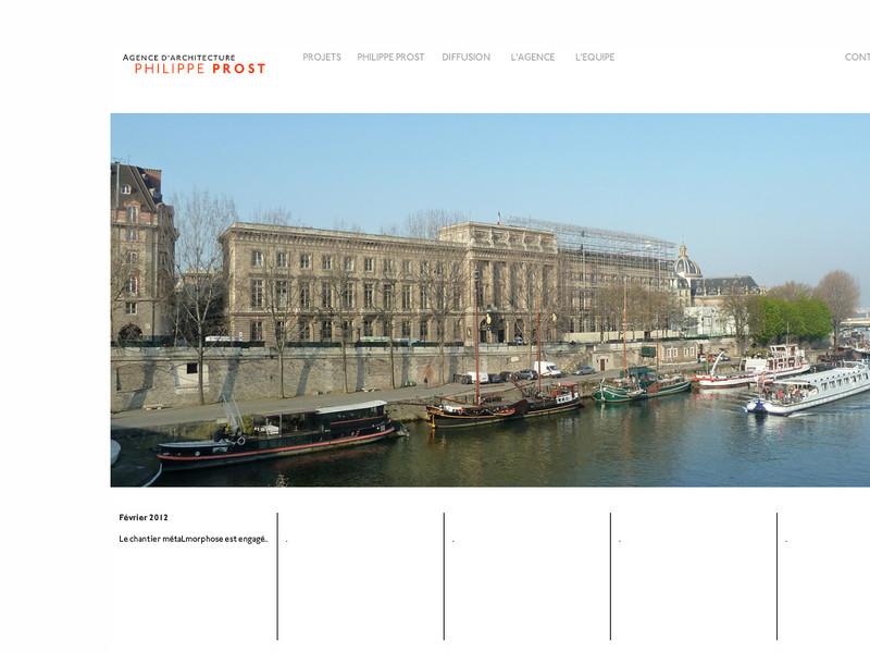 AAPP - Agence d'Architecture Philippe Prost - Paris 2e