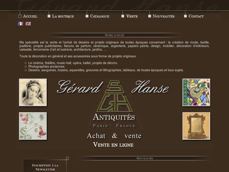 Gerard Hanse - Paris 11e