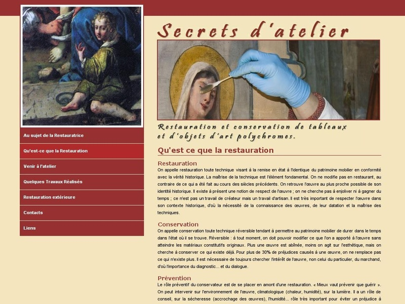 Secrets d'Atelier - Claude Lerat - La Roche Guyon