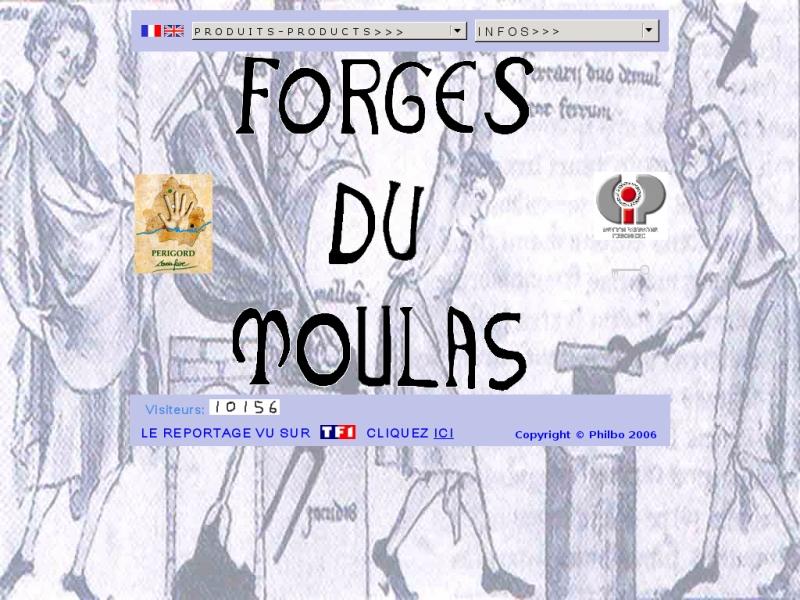 Forges du Moulas - Saint Pierre d'Eyraud