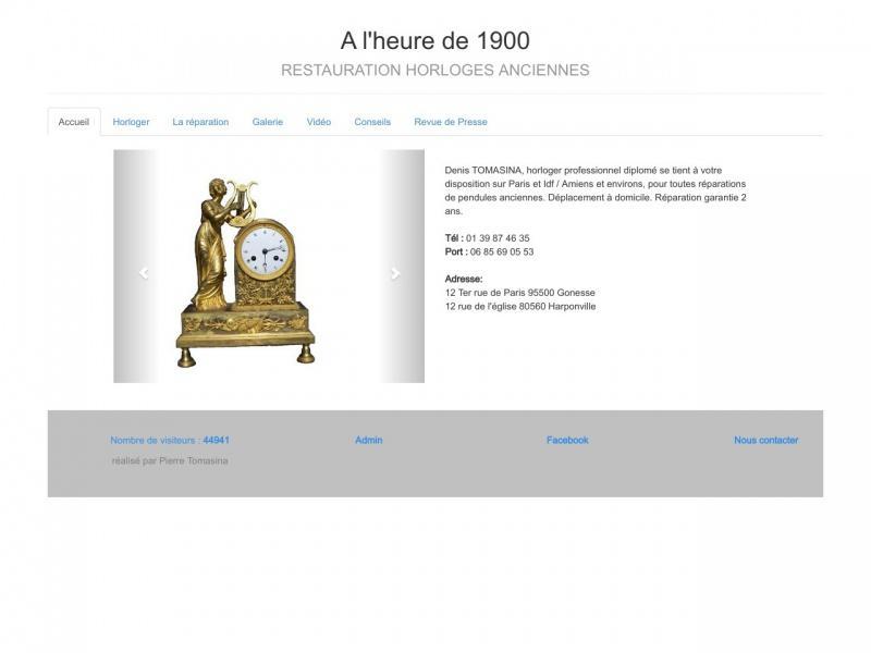 A l'Heure de 1900 - Paris 17e