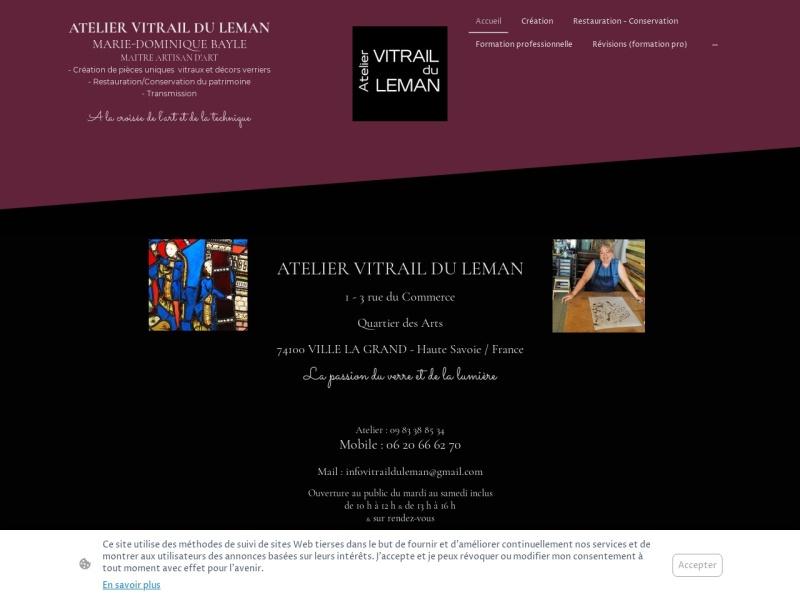 Atelier Vitrail du Leman - Ville la Grand