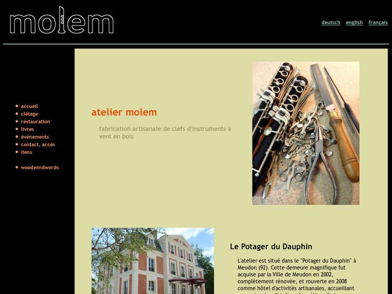 Molem Woodwind Atelier - Meudon