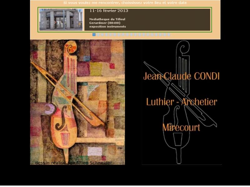 Jean-Claude Condi - Mirecourt