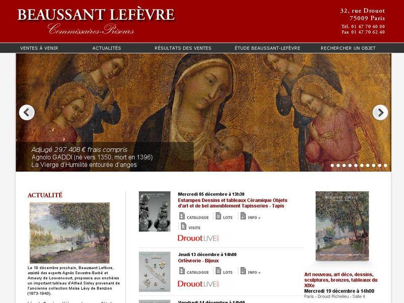 Beaussant Lefèvre - Paris 9e
