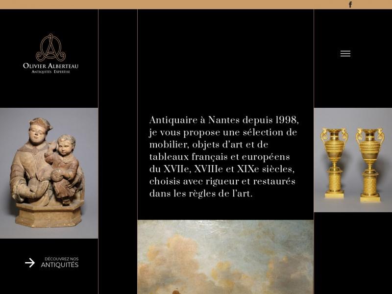 Olivier Alberteau - www.antiquites-alberteau.fr