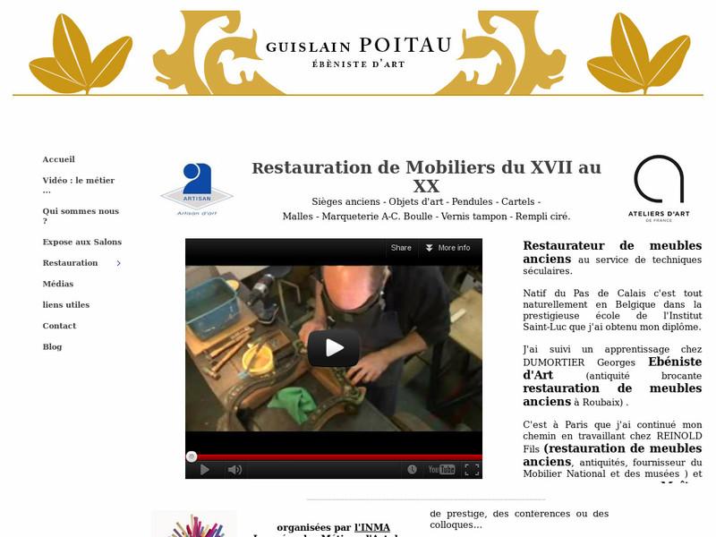 Guislain Poitau - www.restauration-ebeniste-art.fr