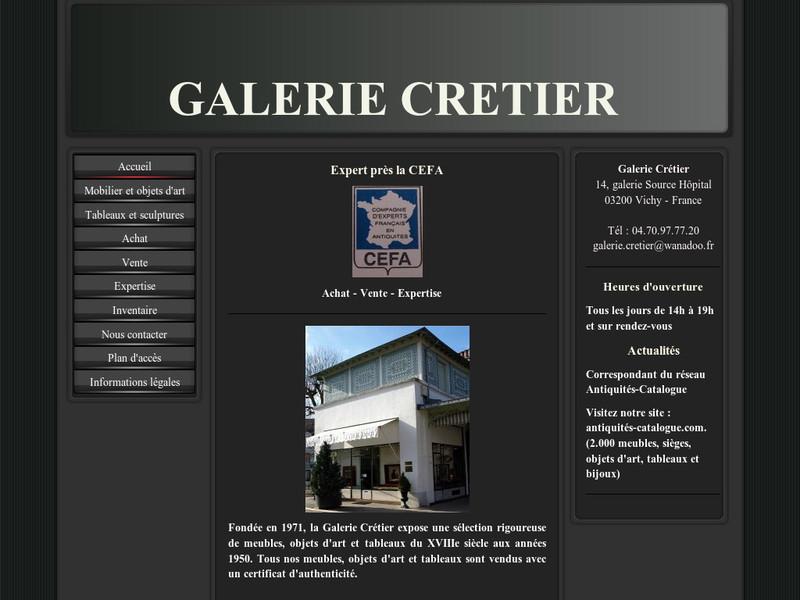 Galerie Crétier - Vichy