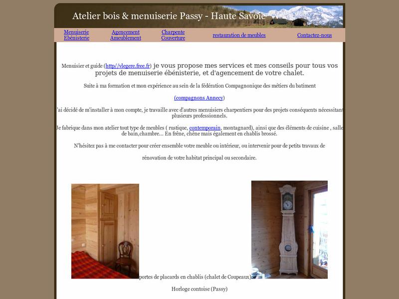 Atelier Bois et Menuiseries - Passy
