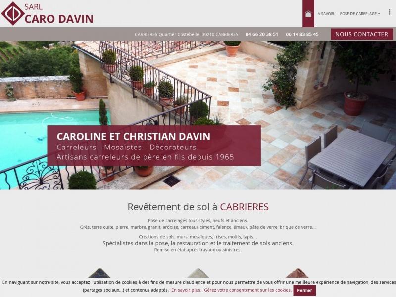 Caro Davin SARL - Cabrières
