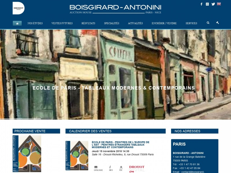 Boisgirard et Associés - Paris 9e