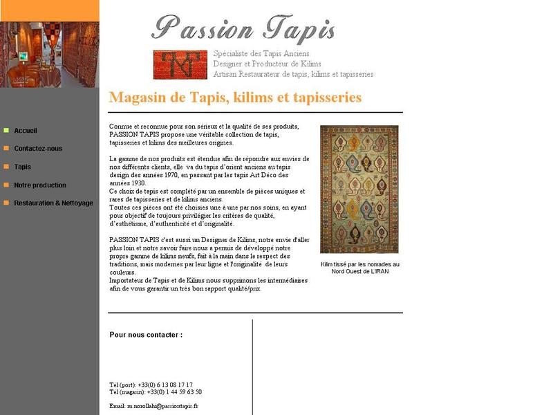 Passion Tapis - Paris 4e